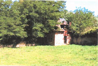 View of the kennels in 1999