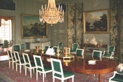 The dining room before restoration